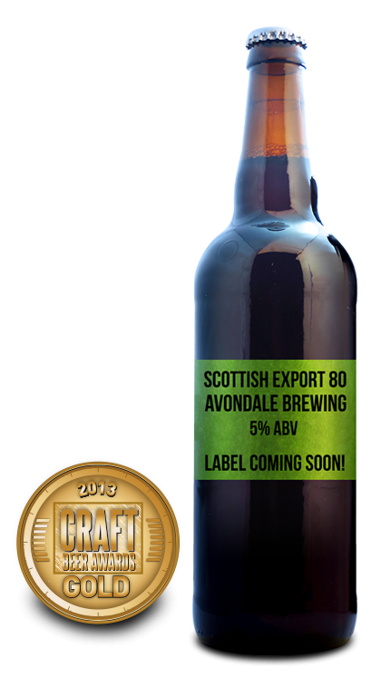 2013 craft beer awards | Scottish Export 80