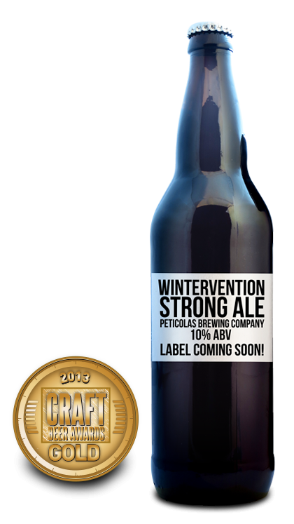 2013 craft beer awards | Wintervention - Strong Ale