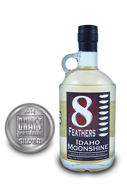 2014 craft spirits awards | 8 Feathers Idaho Moonshine