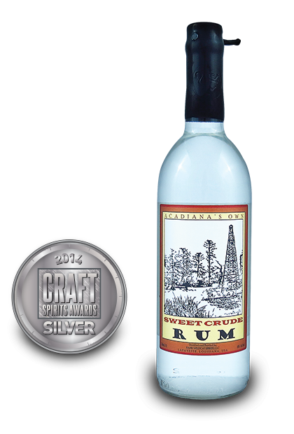 2014 craft spirits awards | Acadianas Own Sweet Crude Rum