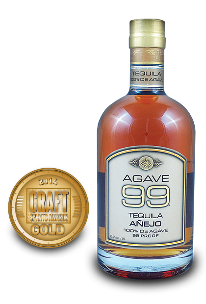 2014 craft spirits awards | Agave 99 Tequila Añejo