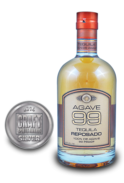 2014 craft spirits awards | Agave 99 Tequila Reposado