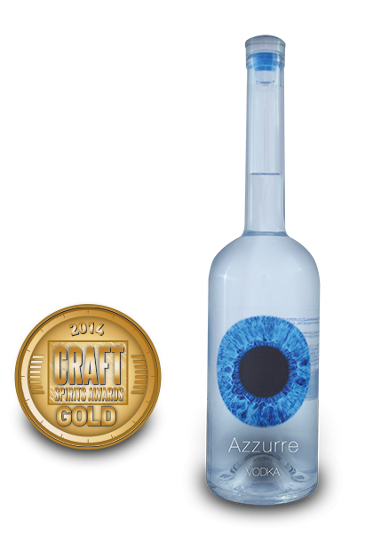 2014 craft spirits awards | Azzurre Vodka