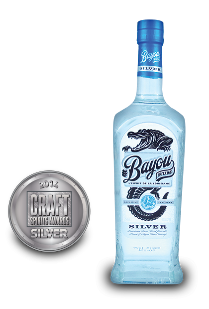 2014 craft spirits awards | Bayou-Rum-Silver