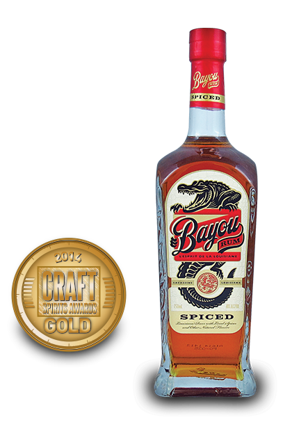 2014 craft spirits awards | Bayou-Rum-Spiced