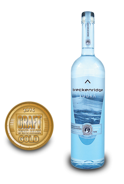 2014 craft spirits awards | Breckenridge-Vodka