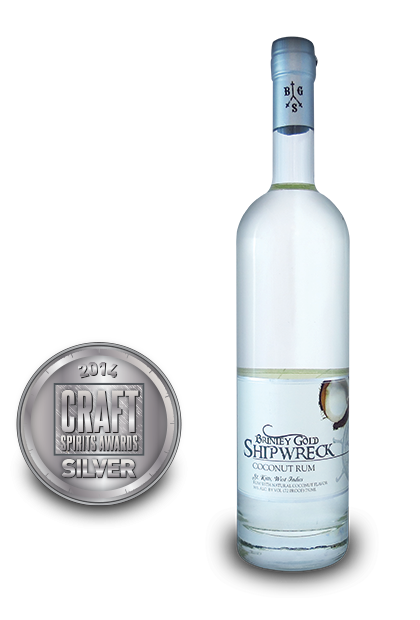 2014 craft spirits awards | Brinley-Gold-Shipwreck-Coconut-Rum