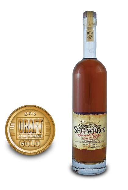 2014 craft spirits awards | Brinley-Gold-Shipwreck-Spiced-Rum