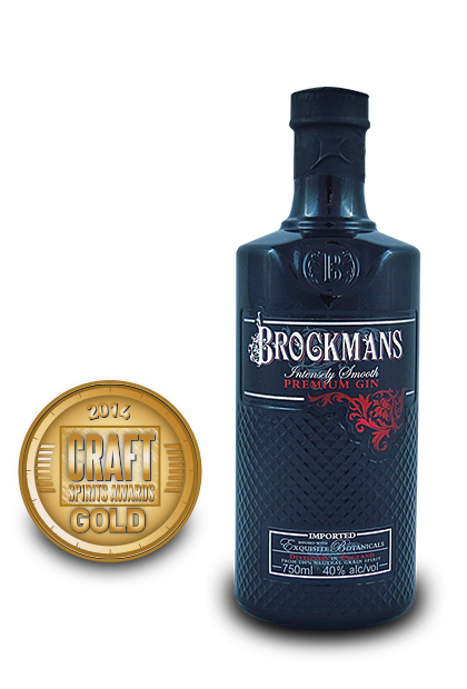 2014 craft spirits awards | Brockmans-Premium-Gin
