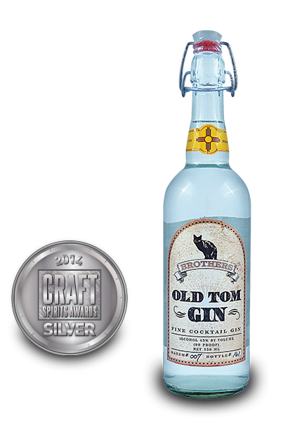 2014 craft spirits awards | Brothers-Old-Tom-Gin