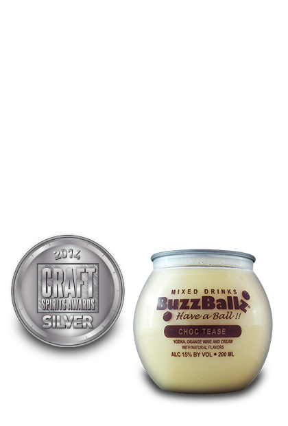 2014 craft spirits awards | BuzzBallz-Choc-Tease