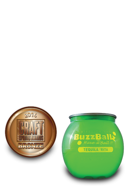 2014 craft spirits awards | BuzzBallz-Tequila-Rita
