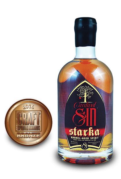 2014 craft spirits awards | Cardinal-Sin-Starka