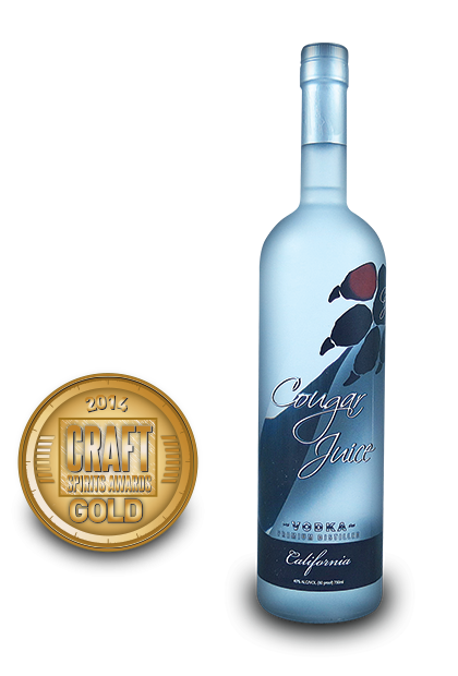 2014 craft spirits awards | Cougar-Juice-Vodka