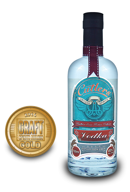 2014 craft spirits awards | Cutlers-Vodka