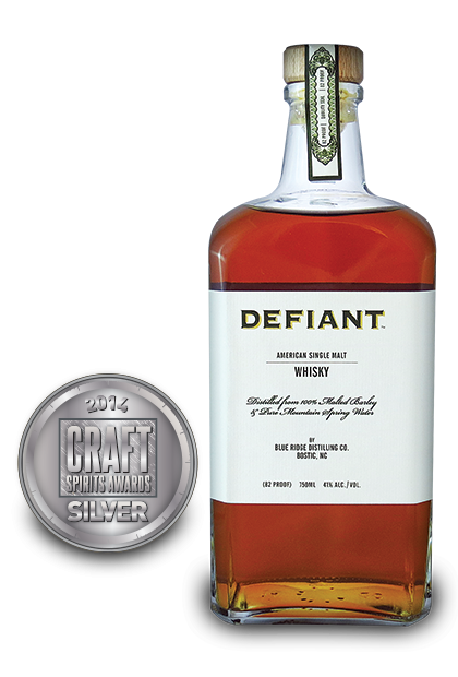 2014 craft spirits awards | Defiant-American-Single-Malt-Whisky