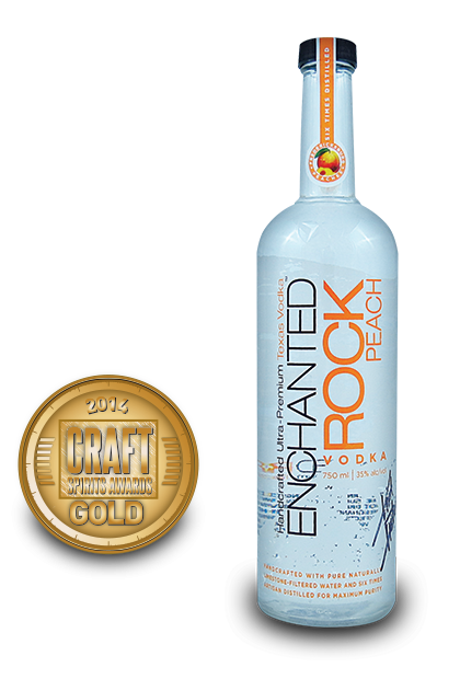 2014 craft spirits awards | Enchanted-Rock-Peach-Vodka