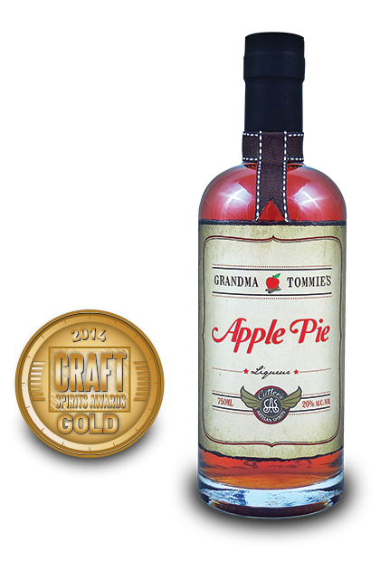 2014 craft spirits awards | Grandma-Tommies-Apple-Pie-Liqueura