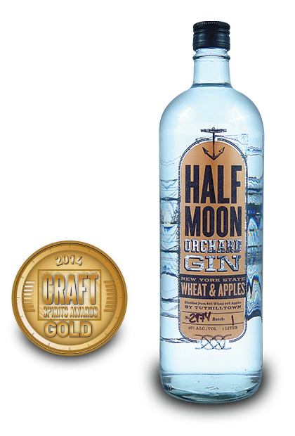 2014 craft spirits awards | Half-Moon-Orchard-Gin