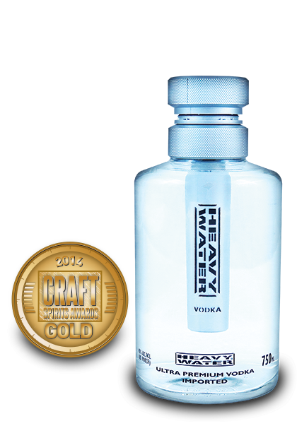 2014 craft spirits awards | Heavy-Water-Vodka