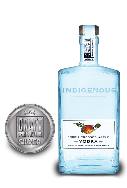 2014 craft spirits awards | Indigenous-Fresh-Pressed-Apple-Vodka