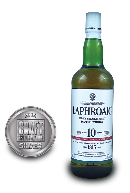 2014 craft spirits awards | Laphroaig-Islay-Single-Malt-Scotch-Whisky-Aged-10-Years-Original-Cask-Strength