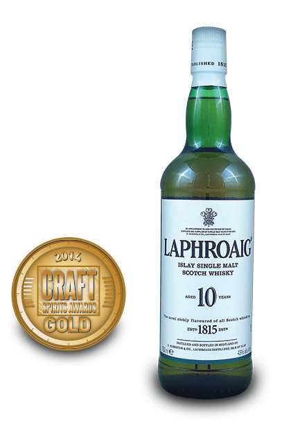 2014 craft spirits awards | Laphroaig-Islay-Single-Malt-Scotch-Whisky-Aged-10-Years