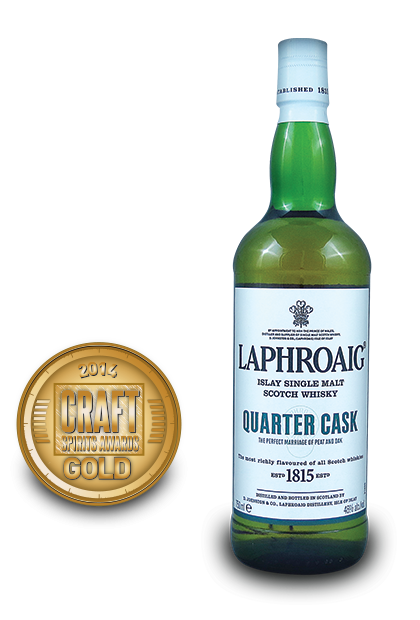 2014 craft spirits awards | Laphroaig-Islay-Single-Malt-Scotch-Whisky-Quarter-Cask