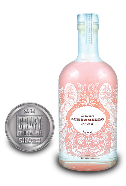 2014 craft spirits awards | LiDestri-Limoncello-Pink-Liqueur