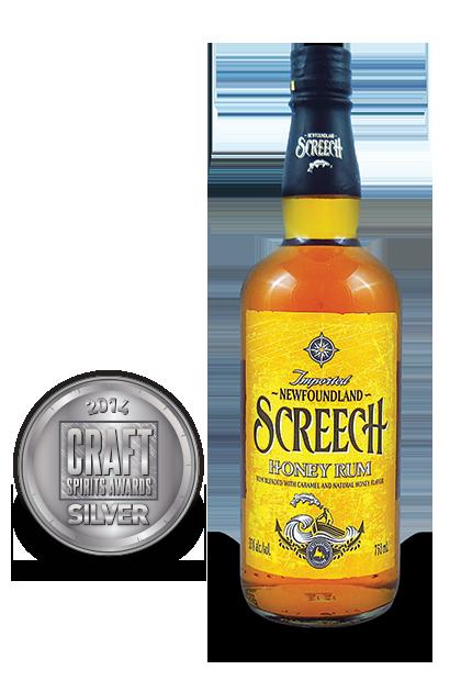 2014 craft spirits awards | Newfoundland-Screech-Honey-Rum