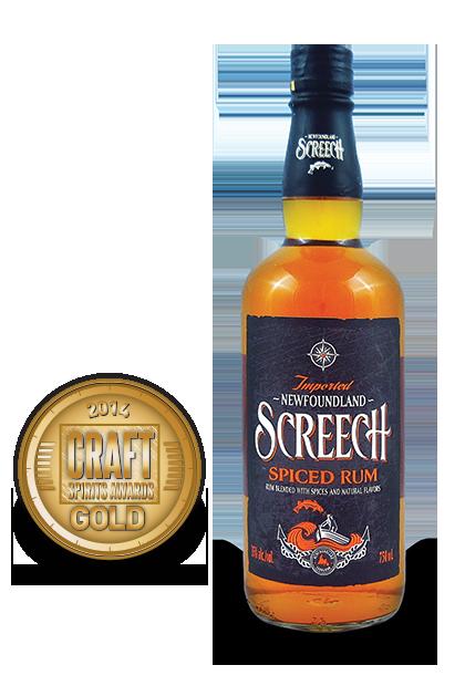 2014 craft spirits awards | Newfoundland-Screech-Spiced-Rum