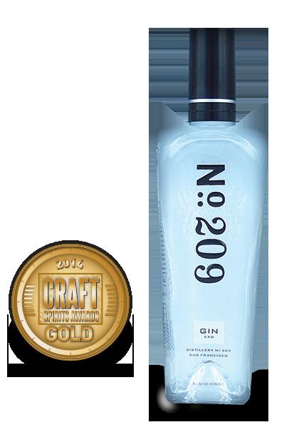2014 craft spirits awards | No209-Gin