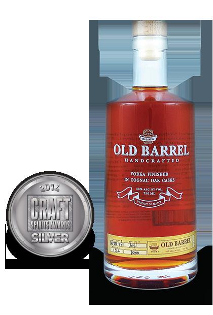 2014 craft spirits awards | Old-Barrel-Vodka