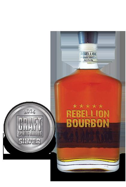 2014 craft spirits awards | Rebellion-Bourbon