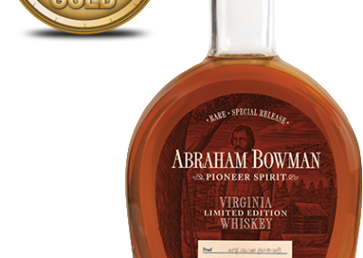 Abraham Bowman Limited Edition Whiskey