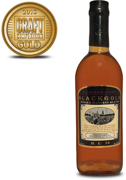Acadianas Own Black Gold Rum
