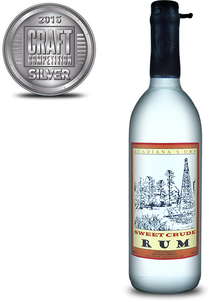 Acadianas Own Sweet Crude Rum