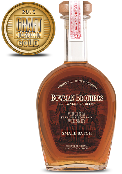 Bowman Brothers Virginia Straight Whiskey