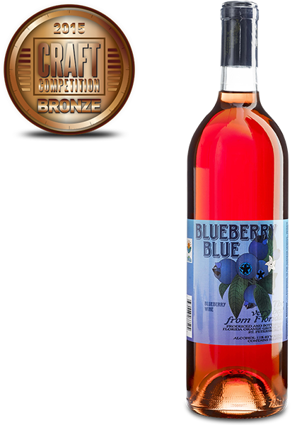 Florida Orange Groves Blueberry Blue