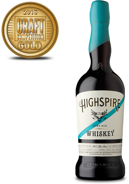 Highspire Pure Rye Whiskey