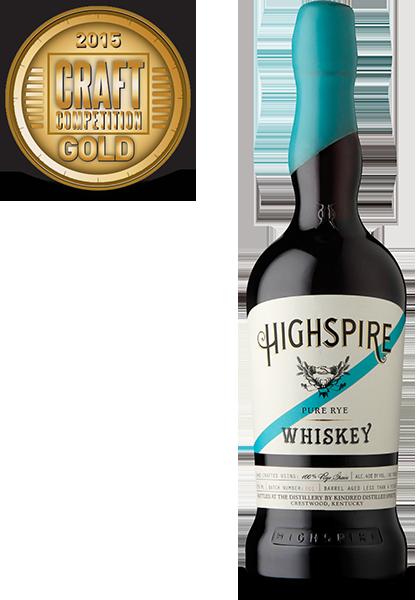 Highspire Pure Rye Whiskey