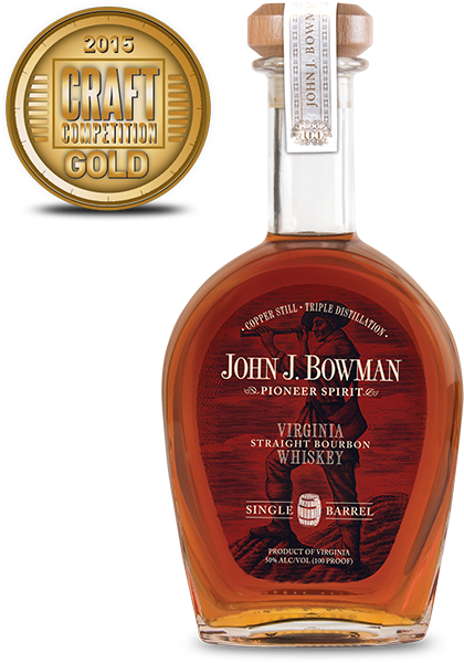 John J Bowman Virginia Straight Bourbon Whiskey