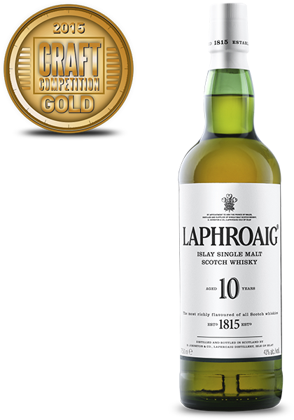 Laphroaig Islay Single Malt Scotch Whisky Aged 10 Years
