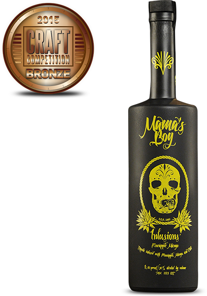 Mamas Boy Infusion Pineapple Mango Tequila