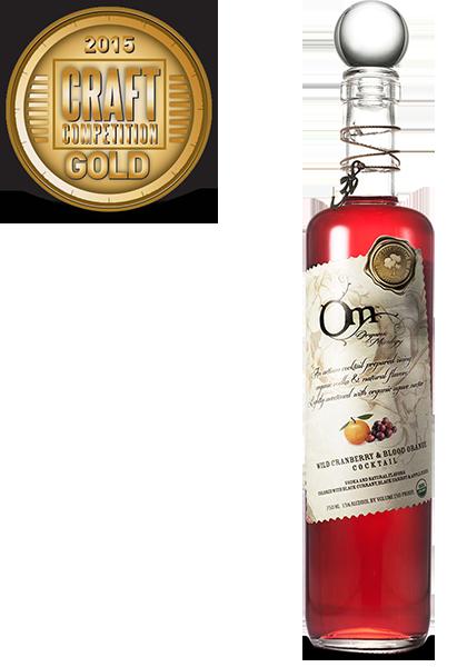 OM Cranberry Blood Orange Liqueur