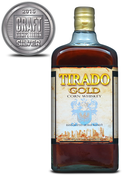 Tirado Gold Corn Whiskey