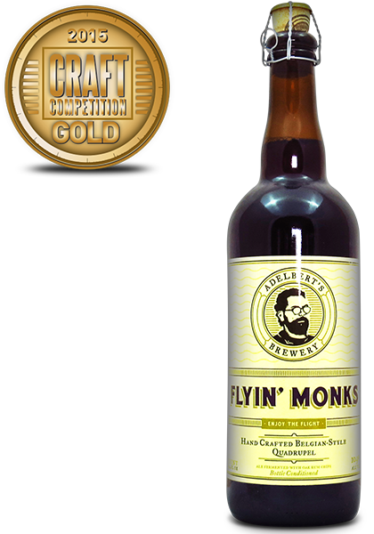 Adelberts Brewery Flyin Monks