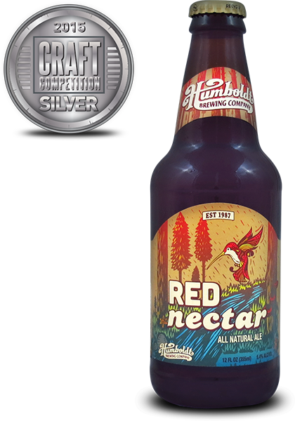 Humboldt Brewing Company Red Nectar All Natural Ale