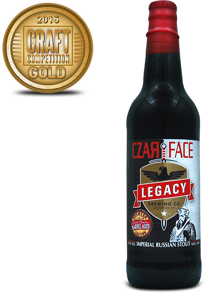 Legacy Brewing Czarface Imperial Russian Stout