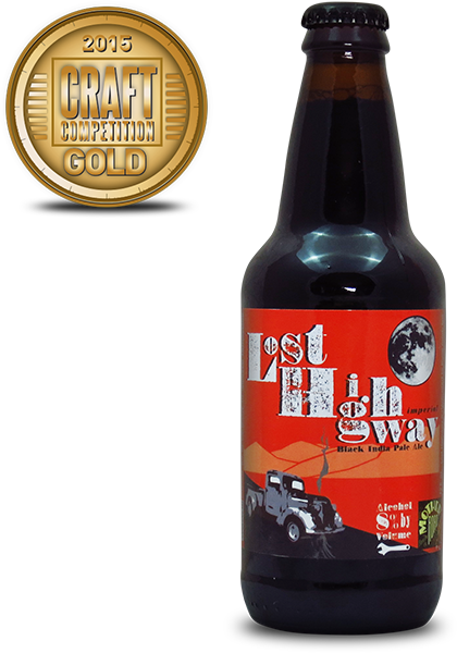 Mother Road Brewing Company Lost Highway Black IPA